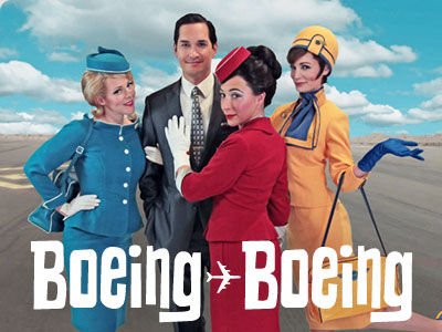 Boeing Boeing at Seattle Repertory Theatre